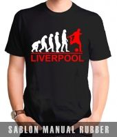 Kaos Sablon Evolution Liverpool