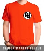 Kaos Sablon Logo Dragon Ball
