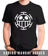 Kaos Sablon  One Piece 12