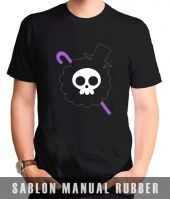 Kaos Sablon One Piece 18