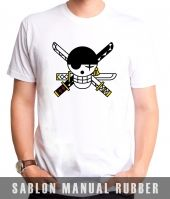 Kaos Sablon One Piece 19