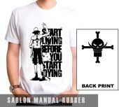 Kaos Sablon  One Piece 9