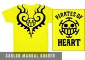 Kaos Sablon One Piece Unik