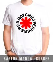 Kaos Sablon Red Hot Chili Peppers 2
