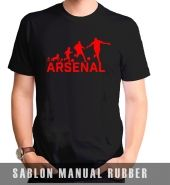 Kaos Sablon Revolotion Arsenal 2