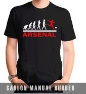 Kaos Sablon Revolotion Arsenal 1