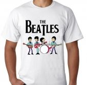 Kaos The Beatles cartoon 2