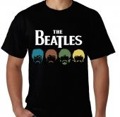 Kaos The Beatles fruit of the loom