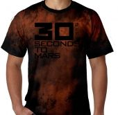 Kaos Tie Dye 30 Seconds to Mars 1