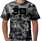 Kaos Tie Dye 30 Seconds to Mars 2