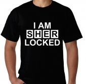 Kaos Tulisan I am Sher Locked