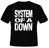 Kaos Tulisan System Of A Down 1