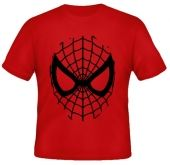 Kaos Wajah Spiderman