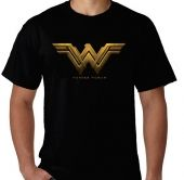 Kaos Wonder Woman New Logo 3