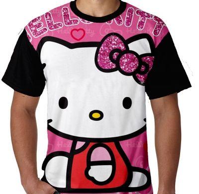 Kaos Hello Kitty Full Print